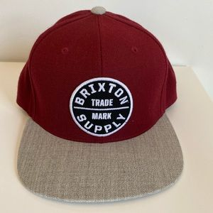 2 for 25, 3 for 30. Brixton Supply snapback hat